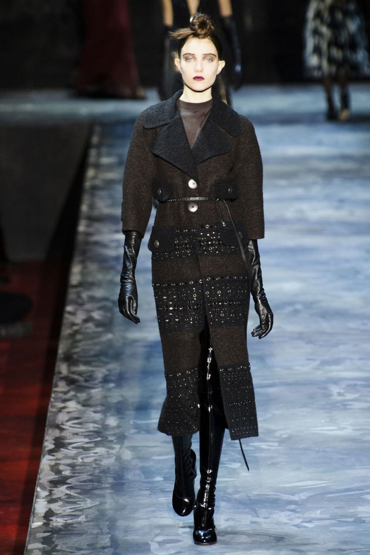 A look from the Marc Jacobs fall 2015 collection. Photo: Imaxtree