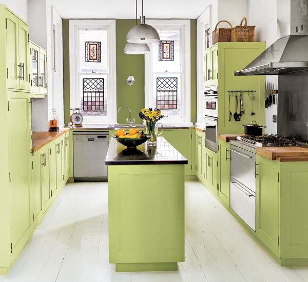 133 Best Images About Green Kitchens On Pinterest Modern Kitchen Cabinets Green Cabinets And Contemporary Kitchens