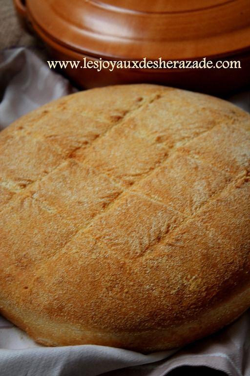 pain maison à la semoule