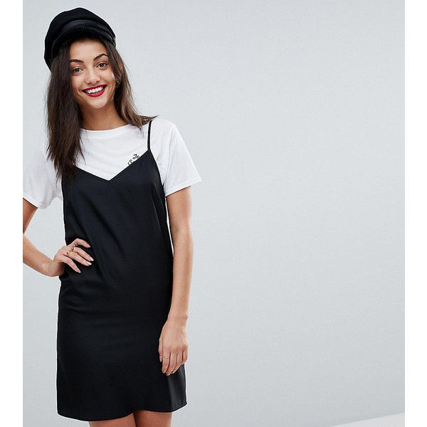 asos tall mini cami slip dress 76 brl liked on polyvore