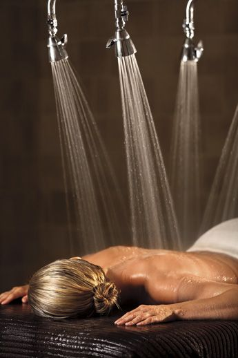 !!!The secrets of happines !!!                                         The Vichy Shower at The Ritz-Carlton Spa, Denver