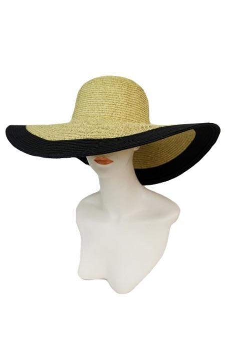 Sun Hat - Women's Floppy Sun Hat Two Tone