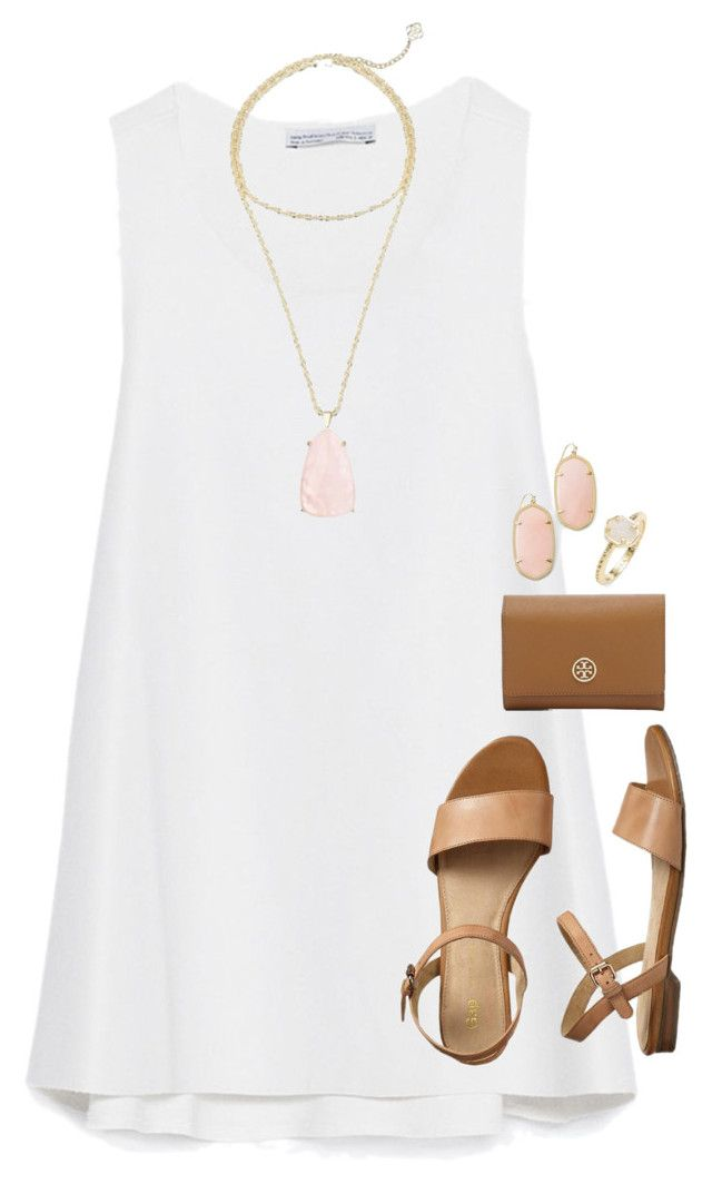 """""""spring!!!!!!"""" by tessorastefan ❤ liked on Polyvore featuring Zara, Kendra Scott, Gap, Tory Burch, women's clothing, women, female, woman, misses and juniors"""