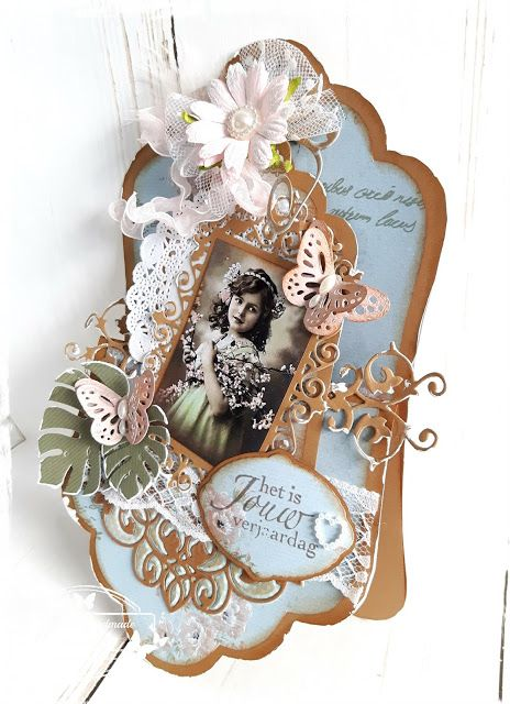 Original handmade by Janneke: Het is jouw verjaardag