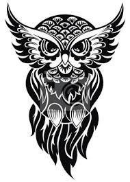 Znalezione obrazy dla zapytania tatuaż fantastyczna sowa