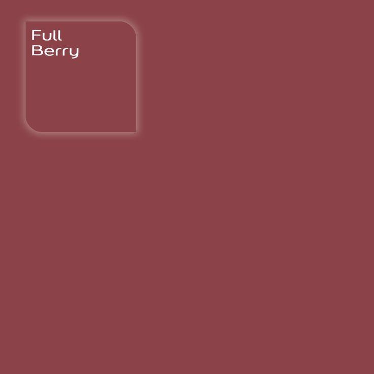 Pure by Flexa Colour Lab® kleur: Full Berry. Verkrijgbaar in verfspeciaalzaken.