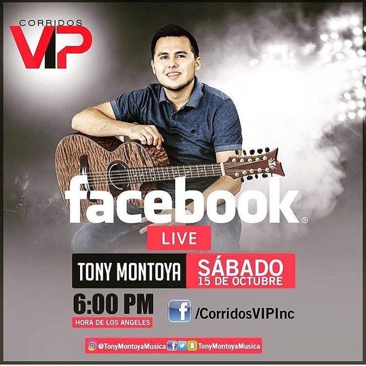 No se lo pierdan @tonymontoyamusica #tonymontoyamusicavip