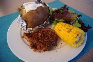 Complete Steak Dinner in Crockpot