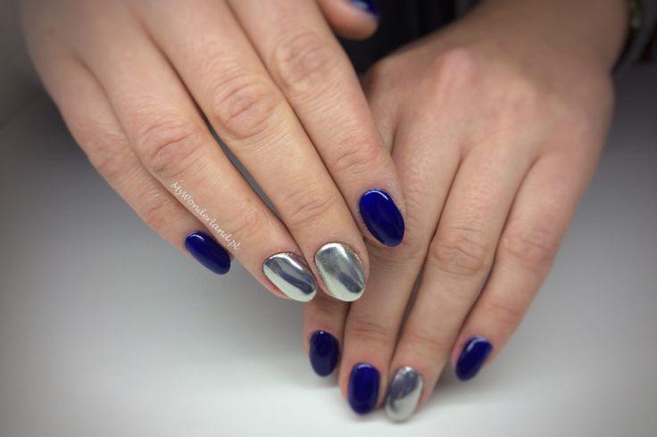 mirror nails (chrome effect)