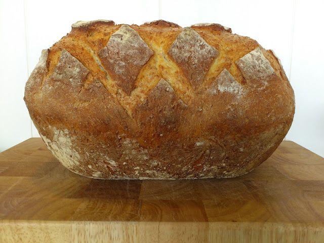 STORT BRØD I LEIRGRYTE - large bread in römertopf