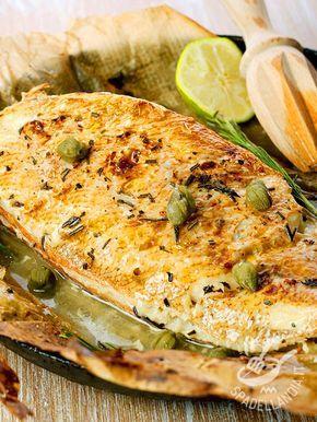 Grouper with capers - La Cernia ai capperi è un secondo di pesce dalla preparazione molto semplice, con pochi ingredienti che dovranno essere freschissimi e di alta qualità! #cerniaaicapperi