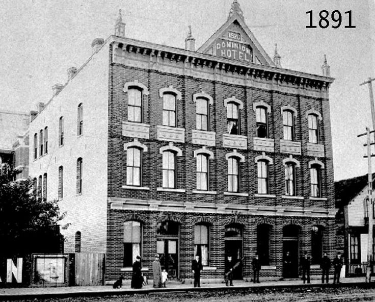 The Dominion Rocket / Dominion Hotel 1891