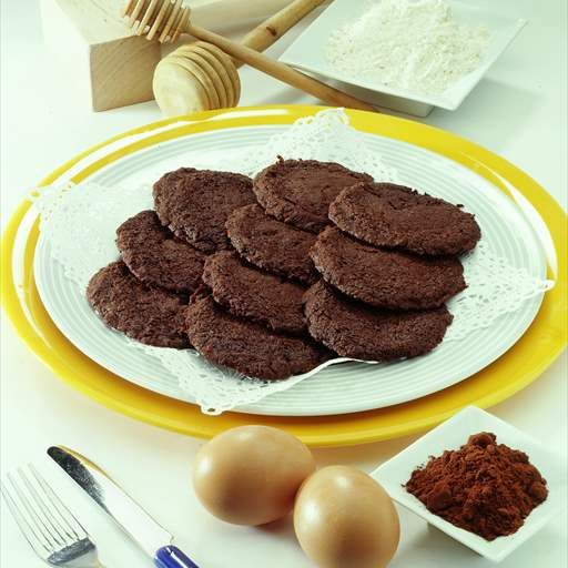 Galletas de chocolate al jengibre