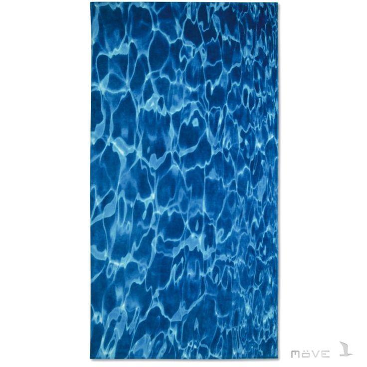 Ręcznik plażowy MOVE WATER - ręcznik plażowy w wodę - NieMaJakwDomu