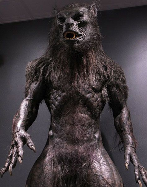 """A """"lycan"""" from the popular movies of Underworld. The reverse could be said of this picture. I would say it's more werewolf like than lycanthrope."""