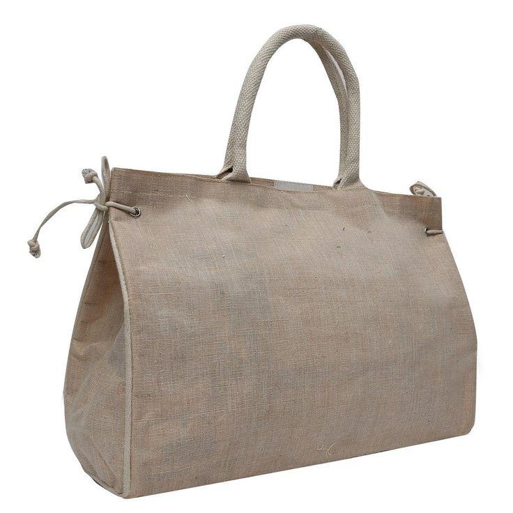 Estilo #Store #Natural #Laced #Jute #Hand #Bag