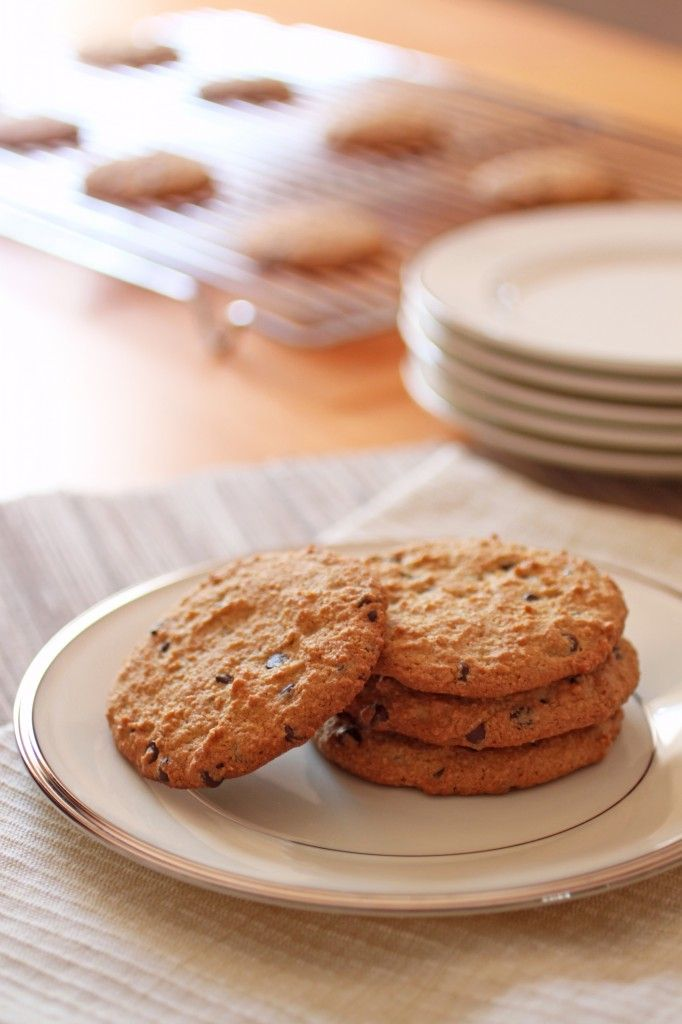 Delicious Paleo Cookies: Reduce Salt amount; Substitute Almond flour for 1 cup Whole Grain Oats, 1 organic Cup coconut flour, 1 Cup organic Amaranth flour