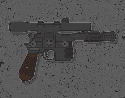 "Check out new work on my @Behance portfolio: ""Han Solo Blaster"" http://be.net/gallery/34936063/Han-Solo-Blaster"