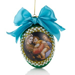 Limited Edition ornament designed by Katie Borghese to benefit #StJude #HSN