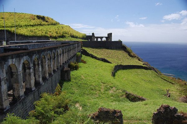 St Kitts and Nevis: Brimstone Hill Fortress