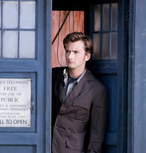 Tenth Doctor! David Tennant. TARDIS. | Doctor Who | Pinterest