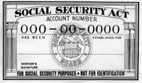 Social Security cards printed from January 1946 until January 1972 expressly stated the number and card were not to be used for identification purposes. Since nearly everyone in the United States now has a number, it became convenient to use it anyway and the message was removed. The SSN card is still not suitable for primary identification as it has no photograph, no physical description and no birth date. The govt cannot require individuals to disclose SSNs w/o legal basis, cos. may refuse…
