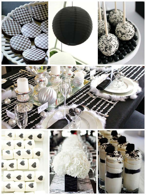 How to Create an Unforgettable Black and White Bridal Shower | Oubly Blog