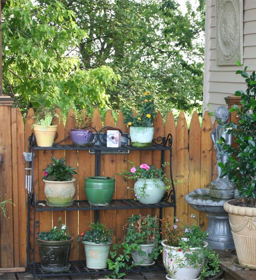 Container gardening for small spaces container garden gardening and container gardening - Small space container gardens design ...