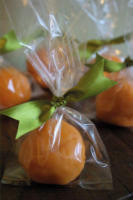 Play dough pumpkins - possible favor for Cinderella/ Princess party