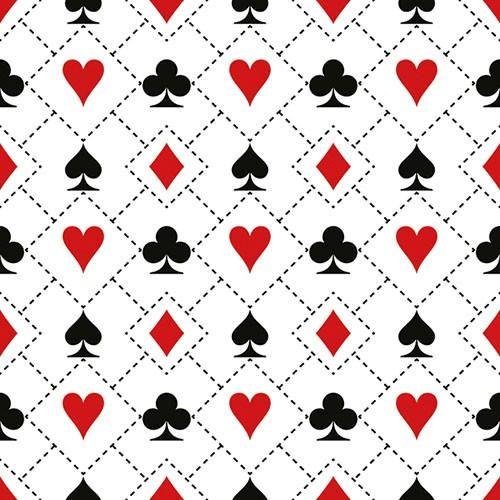 CARD NAPKINS, Cards Cocktail Napkins, Bridge Napkins, Card Game Napkins, Ambiente Napkins, Cards Napkins, Card Suite Napkins, Card Deck