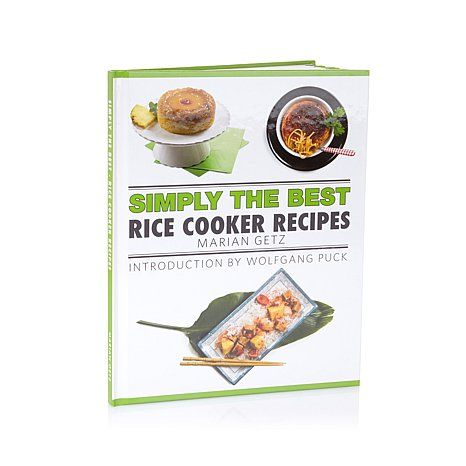 """Marian Getz """"Simply the Best: Rice Cooker Recipes"""" Cookbook 
