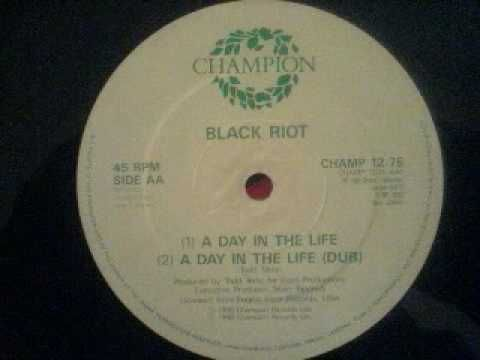 BLACK RIOT a day the life todd terry usa