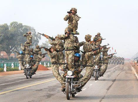 Bike Stunt by Indian Army | I love my india | Pinterest ...