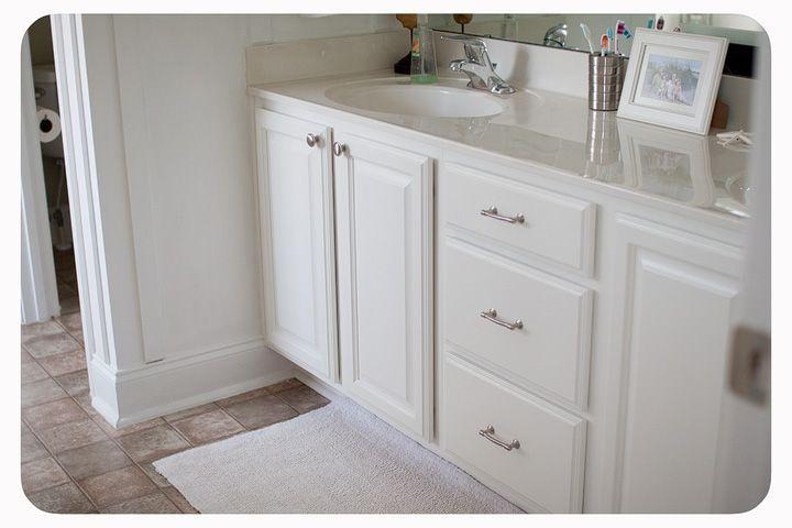 bathroom cabinet redo bathroom