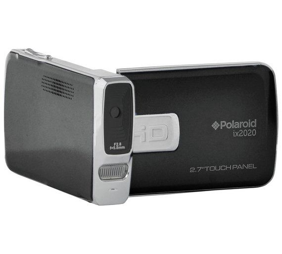 Buy Polaroid ID2020 Full HD Camcorder - Black at Argos.co.uk, visit Argos.co.uk to shop online for Traditional camcorders, Camcorders, Cameras and camcorders, Technology