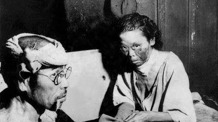 Hiroshima victims.