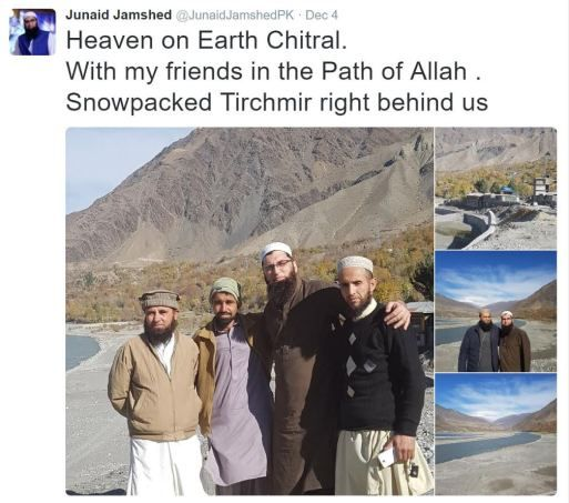 #FlightPK661: Last tweet by Pakistani icon Junaid Jamshed who died in the plane crash along with wife