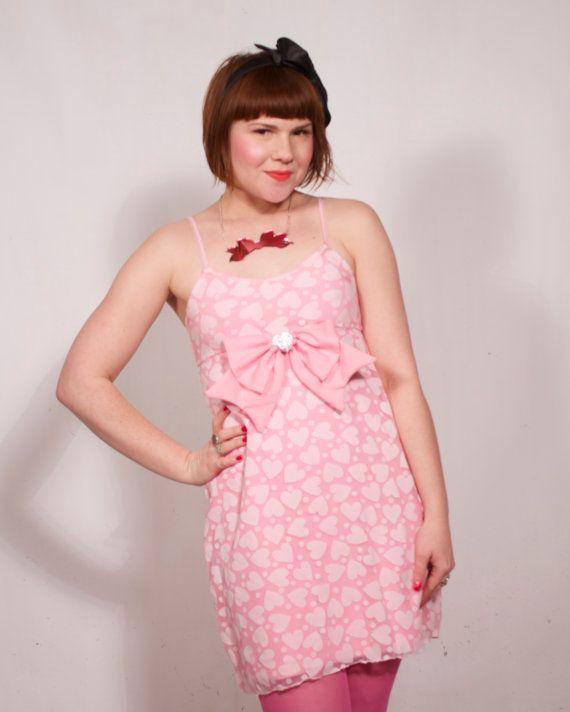 Bleke roze Babydoll jurk