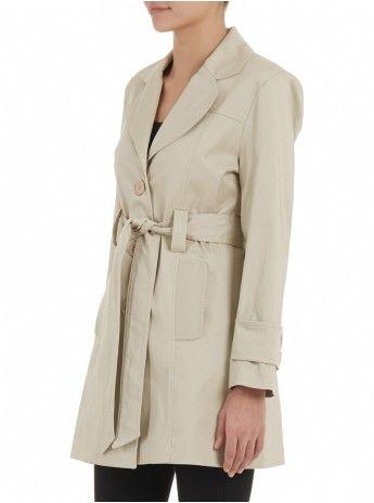 Trench coat Stone/Beige 350
