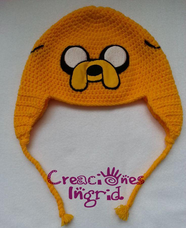 Gorro Jake el Perro - Hora de Aventura / Jake the Dog Hat - Adventure Time