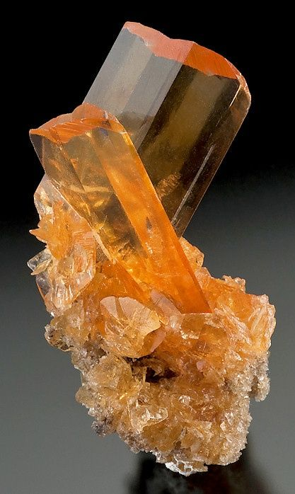 ✯*Golden Selenite on Selenite from Peru*✯