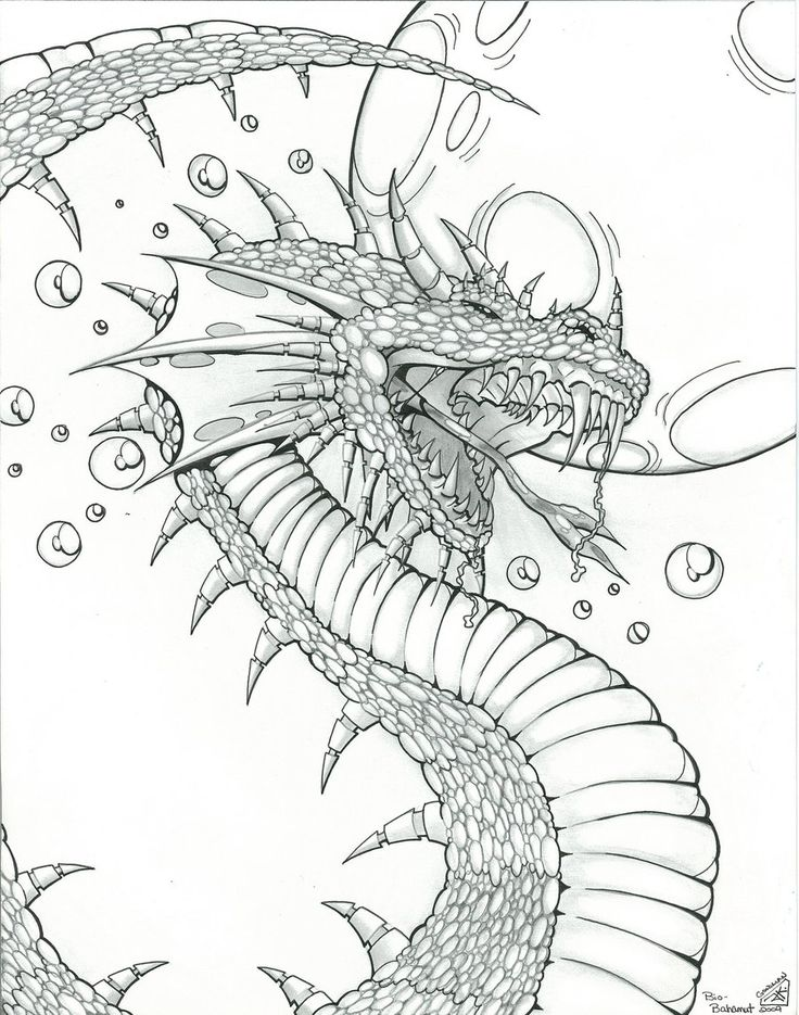 Dragon Design for Fantasy Art by
