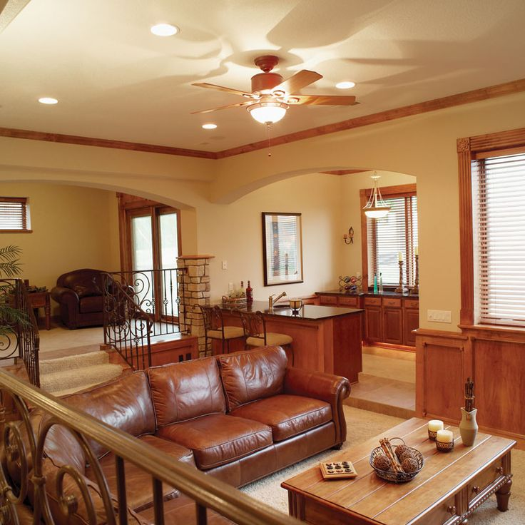 Daylight Basement Living Area I Would Love A 4 Bedroom