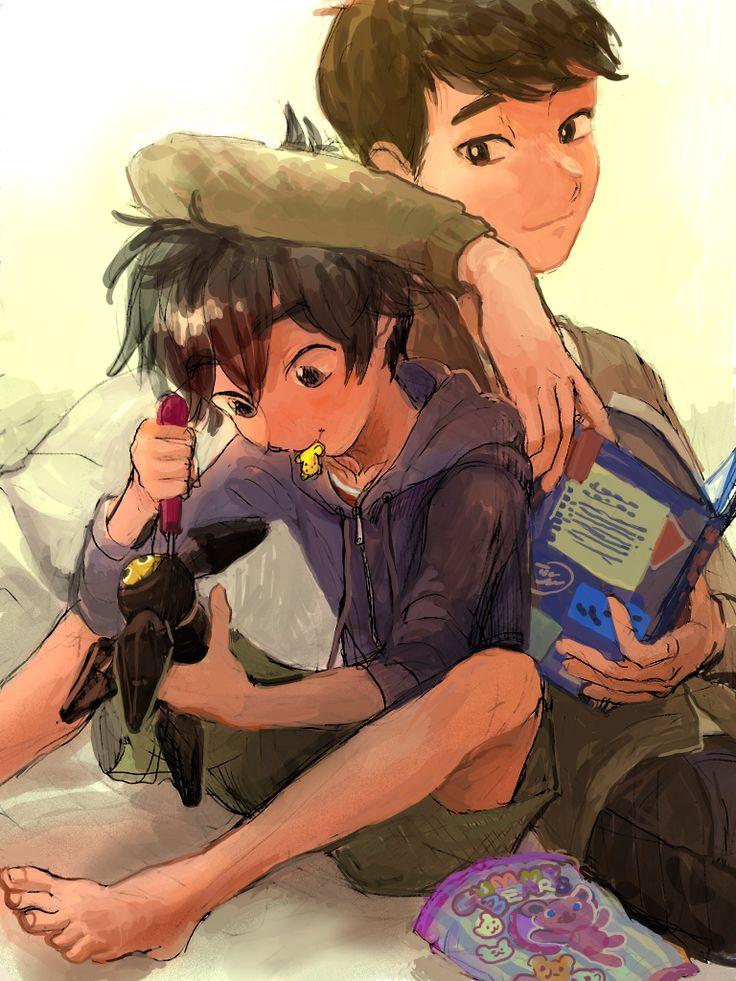 Hiro and tadashi ><