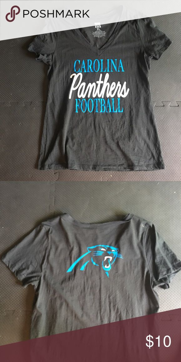 Carolina Panthers Junk Food Tee Size XL. ONLY WORN ONCE Junk Food Clothing Tops Tees - Short Sleeve