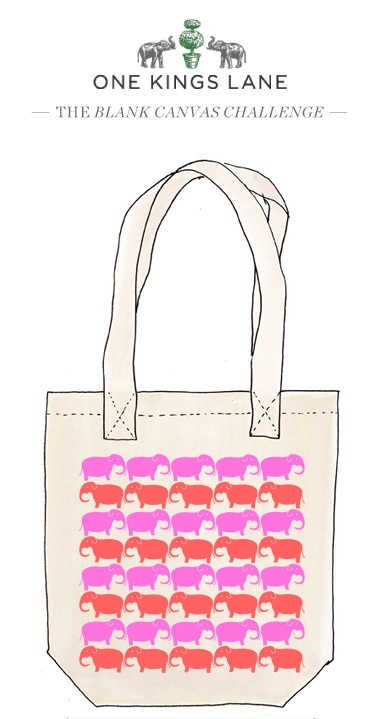 Winslett Watson created this tote bag design for our Blank Canvas Challenge. Cast your vote for her design by pinning it!: Blank Totes, Totes Challenges, Blank Canvas, Totes Bags, Watson Totes, Baby Create, Bag Design, Bags Design, Tote Bags