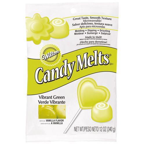 Scontatissimeeee!!! Candy melts verde/giallo brillante 340gr