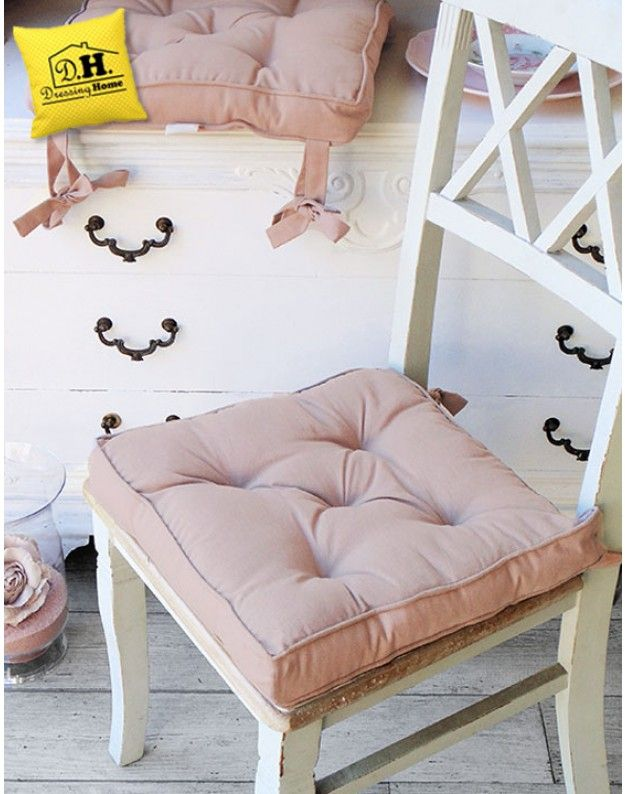 Cuscino per sedia Blanc Mariclo Basic Collection Shabby Chic