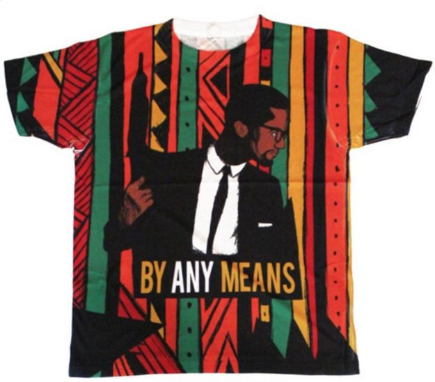 This shirt in colors almost as bold as Detroit Red himself. | 23 Ways To Celebrate Black History Month In Style