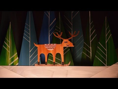 Paper Cut Out Animation- workshop 2014 THE WIND - Il VENTO - YouTube
